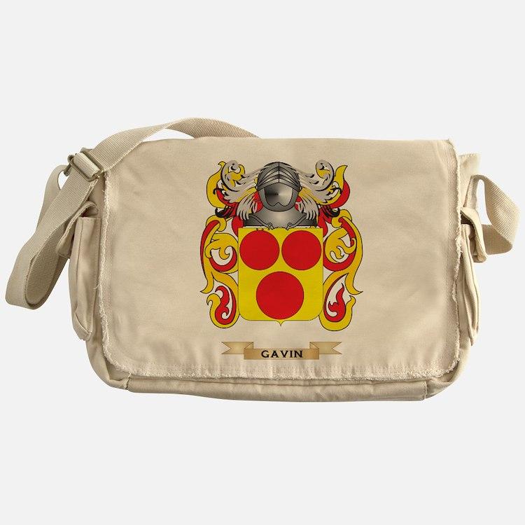 Gavin Coat of Arms (Family Crest) Messenger Bag