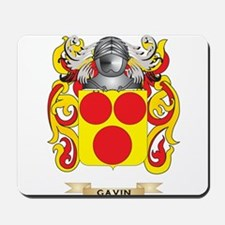 Gavin Coat of Arms (Family Crest) Mousepad