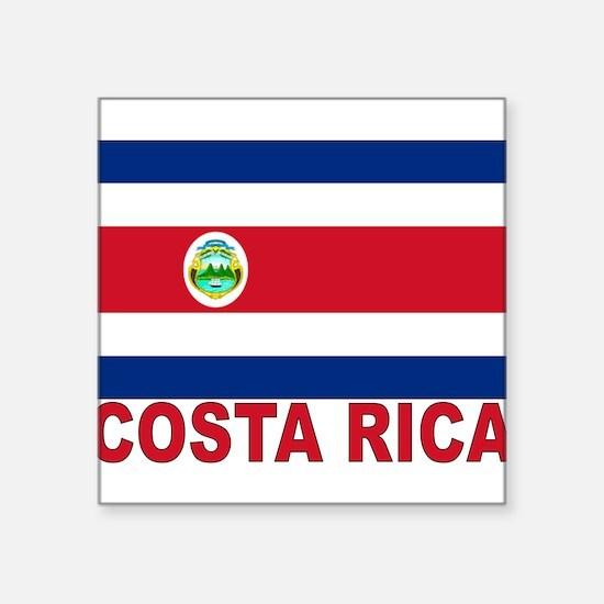 """costa-rica_s.gif Square Sticker 3"""" x 3"""""""