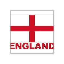 "england_b.gif Square Sticker 3"" x 3"""
