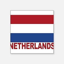 "netherlands_b.gif Square Sticker 3"" x 3"""