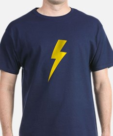 Lightning Bolt T-Shirt (Blue)