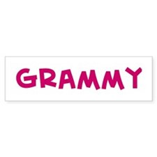 Grammy Bumper Bumper Sticker