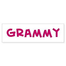 Grammy Bumper Car Sticker