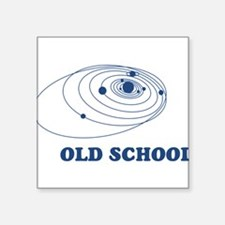 """SOLAR-SYSTEM-OLD-SCHOOL.png Square Sticker 3"""" x 3"""""""