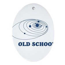 SOLAR-SYSTEM-OLD-SCHOOL.png Ornament (Oval)