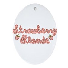 strawberry-blonde_tr.png Ornament (Oval)