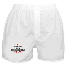 Loved: Schnoodle Boxer Shorts