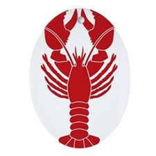 Lobster Ornament (Oval)