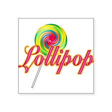 "lollipop-2.png Square Sticker 3"" x 3"""