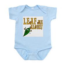 LEAF Me Alone! Make like a tree Infant Bodysuit