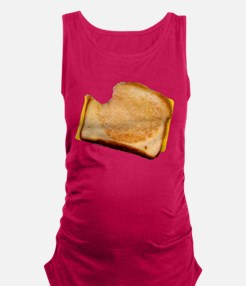 bl_grilledcheese.png Maternity Tank Top