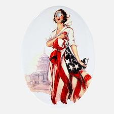 flag-nurse2.png Ornament (Oval)