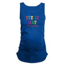 due-in-may.png Maternity Tank Top