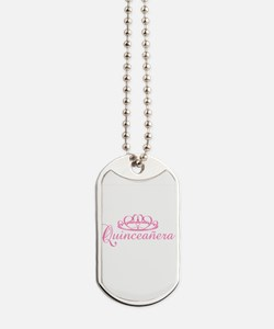 quinceanera.png Dog Tags