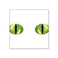"Cat Eyes Square Sticker 3"" x 3"""