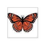 butterfly-orange.png Square Sticker 3