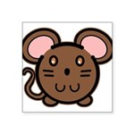 mousie-br.png Square Sticker 3