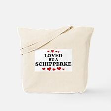 Loved: Schipperke Tote Bag