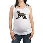monkey-creepy.png Maternity Tank Top