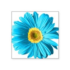 "pop-daisy_bu.png Square Sticker 3"" x 3"""