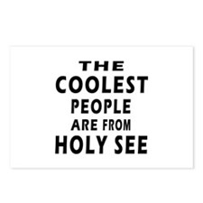 The Coolest Holy See Designs Postcards (Package of