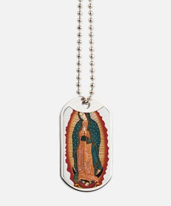 guadalupe.png Dog Tags