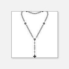 """rosary.png Square Sticker 3"""" x 3"""""""