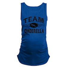 team-cinderella_bl.png Maternity Tank Top