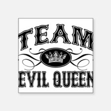 "team-evil-queen_bl.png Square Sticker 3"" x 3"""