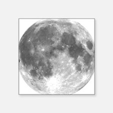 "moon_bl.png Square Sticker 3"" x 3"""