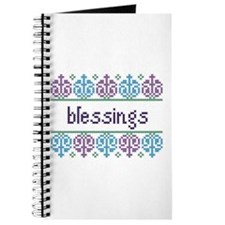 Cross Stitch Blessings 3 Journal