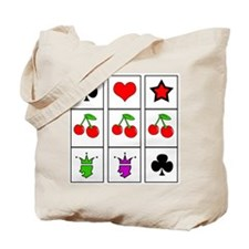 Lucky Slots Tote Bag