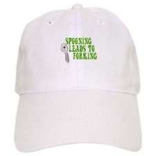 Spooning Leads To Forking! Baseball Cap