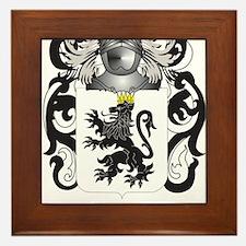 Gelardi Coat of Arms (Family Crest) Framed Tile