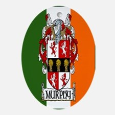 Murphy Arms Tricolour Oval Ornament