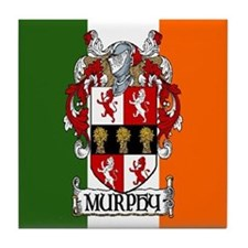 Murphy Arms Tricolour Tile Coaster