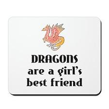 Dragon Girl Mousepad
