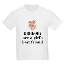 Dragon Girl Kids T-Shirt