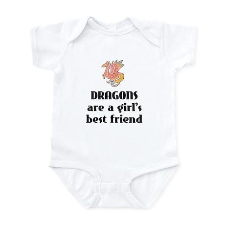 Dragon Girl Infant Bodysuit