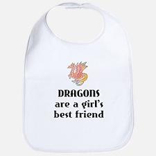 Dragon Girl Bib