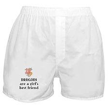 Dragon Girl Boxer Shorts
