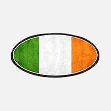 antiqued Irish flag Patches