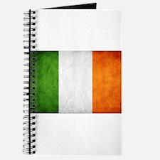 antiqued Irish flag Journal