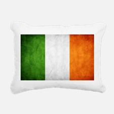 antiqued Irish flag Rectangular Canvas Pillow