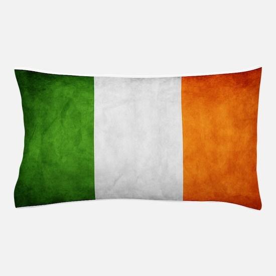 antiqued Irish flag Pillow Case