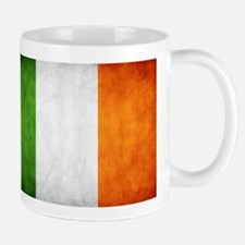 antiqued Irish flag Mug