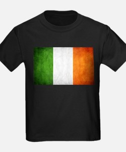 antiqued Irish flag T-Shirt