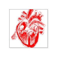 "bl_human-heart-r.png Square Sticker 3"" x 3"""