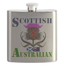 Scottish Australian Thistle Flask